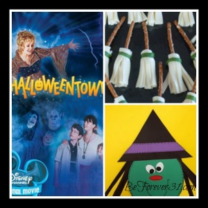 Halloweentown collage