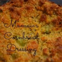 Yummy Cornbread Dressing