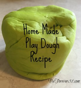 green playdough
