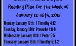 reading plan for preteen Bible study