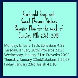 week 2 reading plan