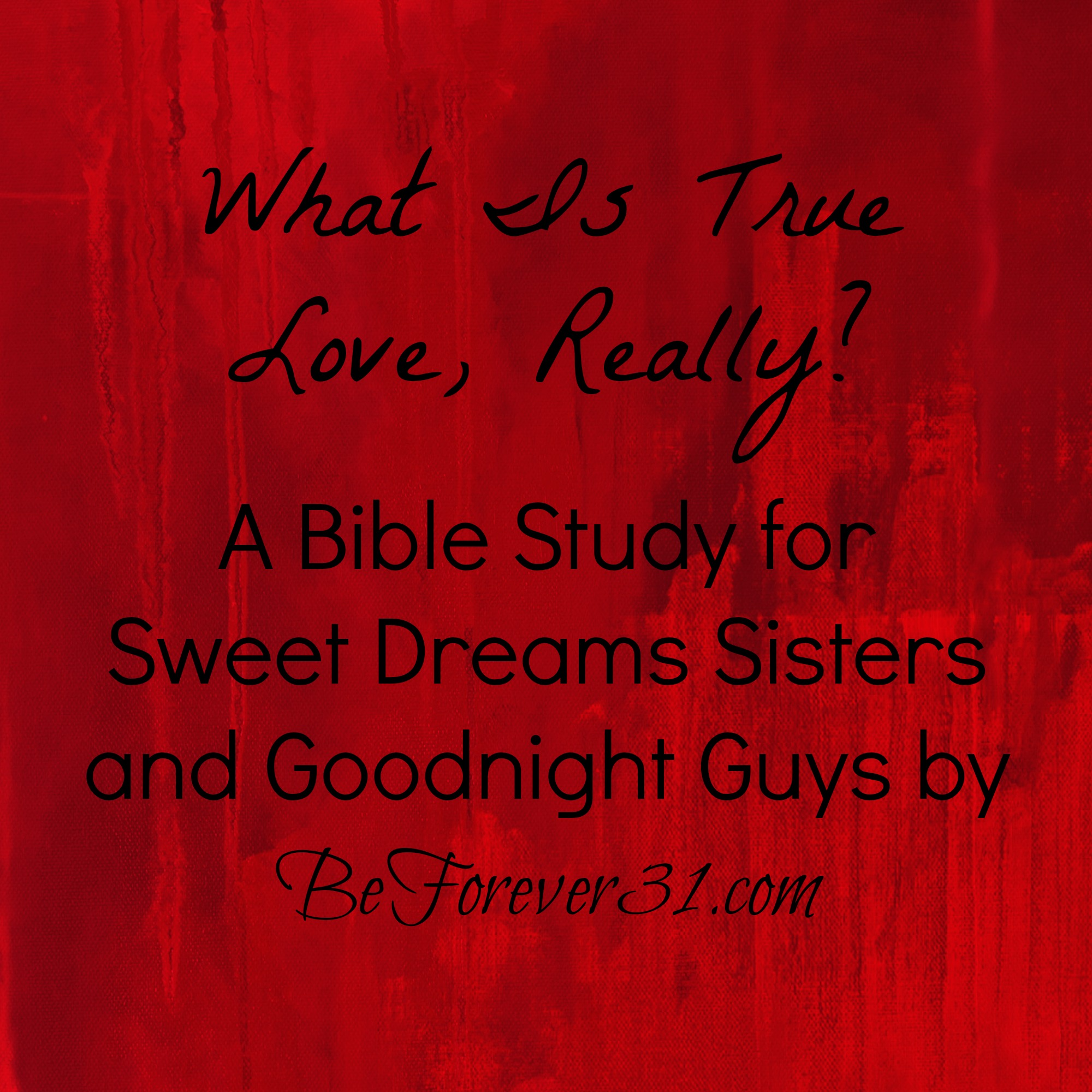 The True Love of God | Reformed Bible Studies ...