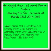 newbeginnings reading plan week 1